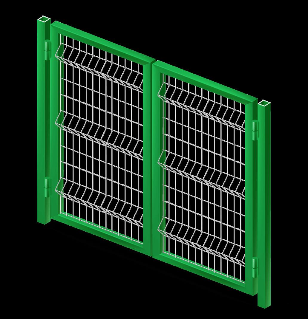 Ворота Стандарт 4х1,5 м.