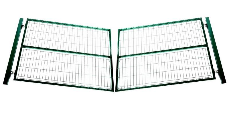 Ворота распашные «Стандарт» 4х1,5 м - фото 1