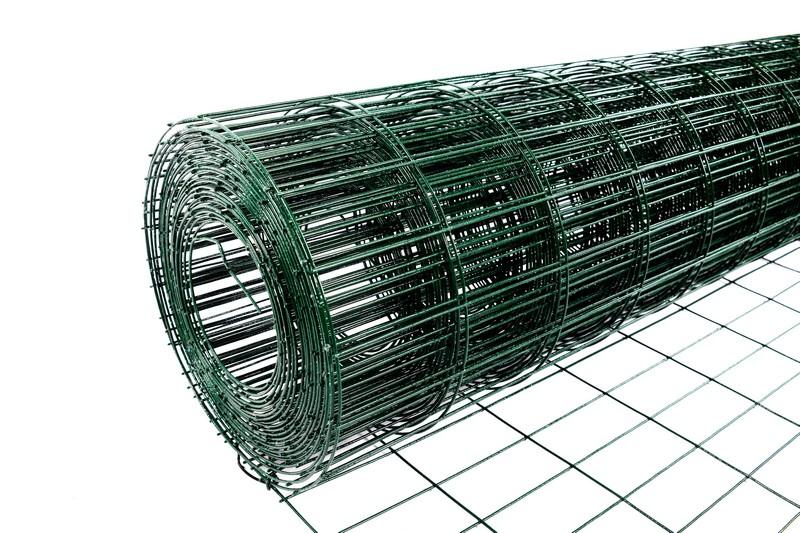 Сетка сварная с ПВХ 50х100 мм., h 1,8 м. - фото 2