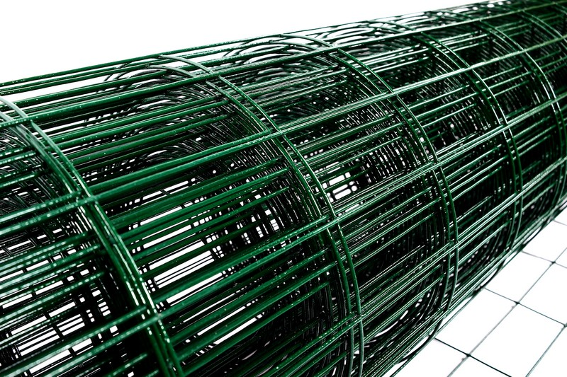 Сетка сварная с ПВХ 50х100 мм., h 1,5 м. - фото 3