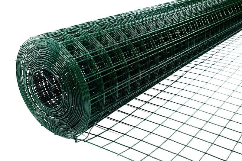 Сетка сварная с ПВХ 50х50 мм., h 1,5 м. - фото 2