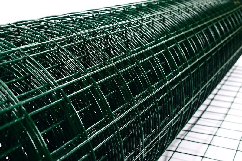Сетка сварная с ПВХ 50х50 мм., h 1,8 м. - фото 3