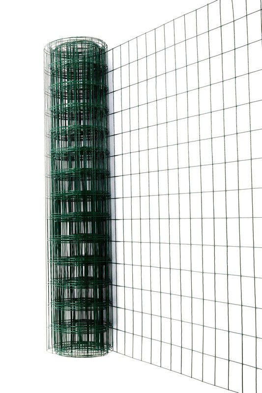 Сетка сварная с ПВХ 75х100 мм., h 1,8 м. - фото 2
