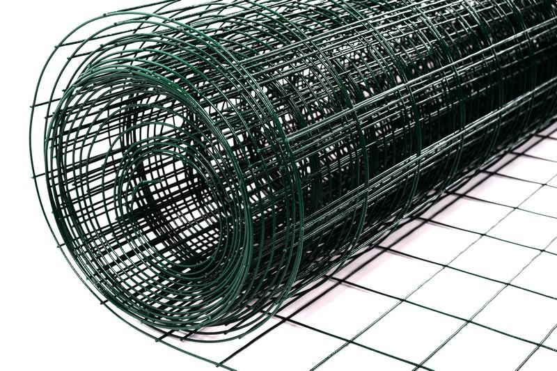 Сетка сварная с ПВХ 75х100 мм., h 1,8 м. - фото 3