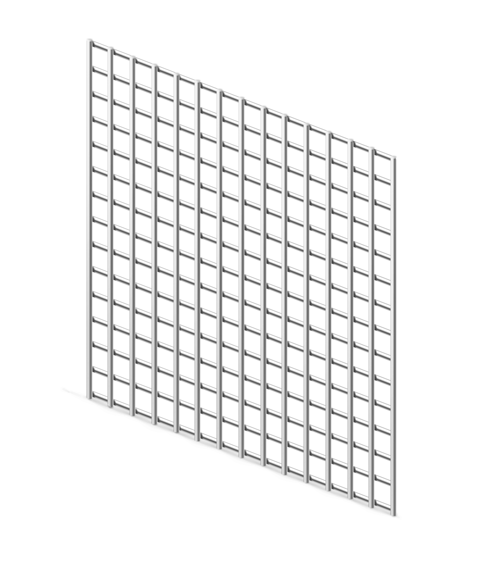 Сетка сварная ОЦ 12,5х12,5 мм., d 1,2 мм.