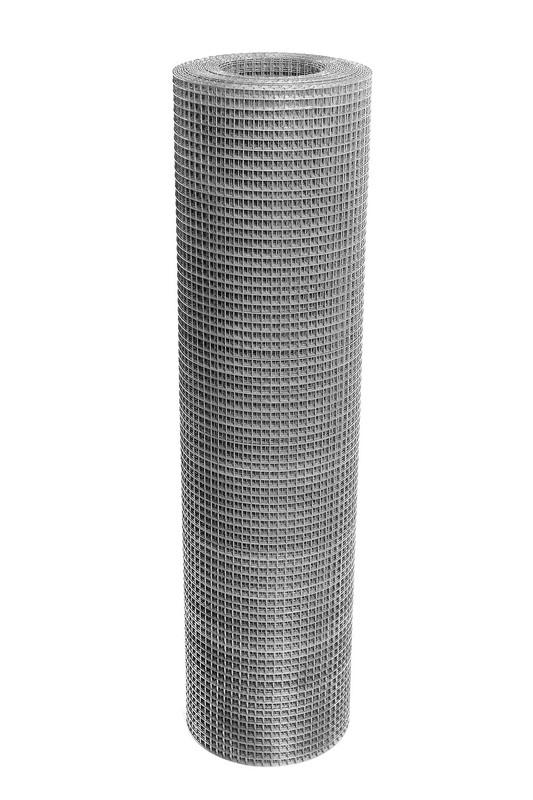 Сетка сварная ОЦ 12,5х12,5 мм., h 1 м. - фото 1