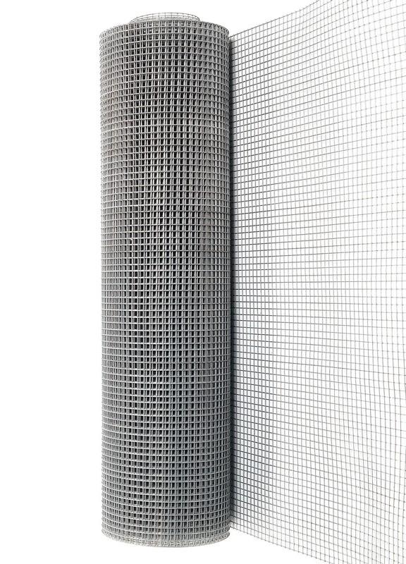 Сетка сварная ОЦ 12,5х12,5 мм., h 1 м. - фото 2