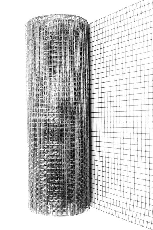 Сетка сварная ОЦ 25х25 мм., d 1,6 мм., 1 м. - фото 2