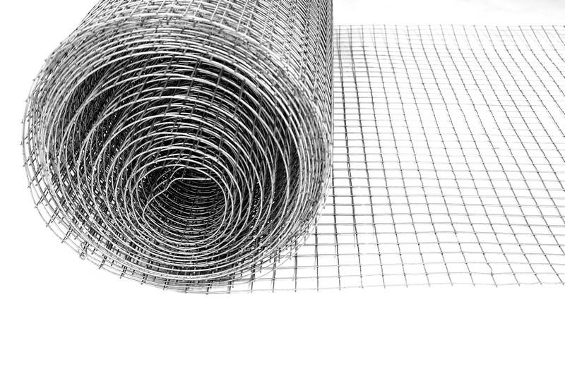 Сетка сварная ОЦ 25х25 мм., d 1,8 мм., 1 м. - фото 3