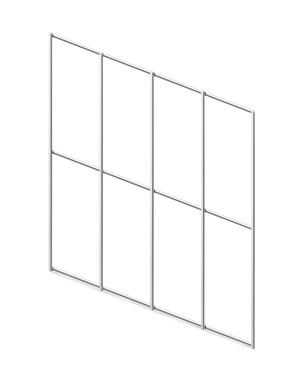 Сетка сварная ОЦ 50х100 мм., d 1,6 мм., 1,5 м.
