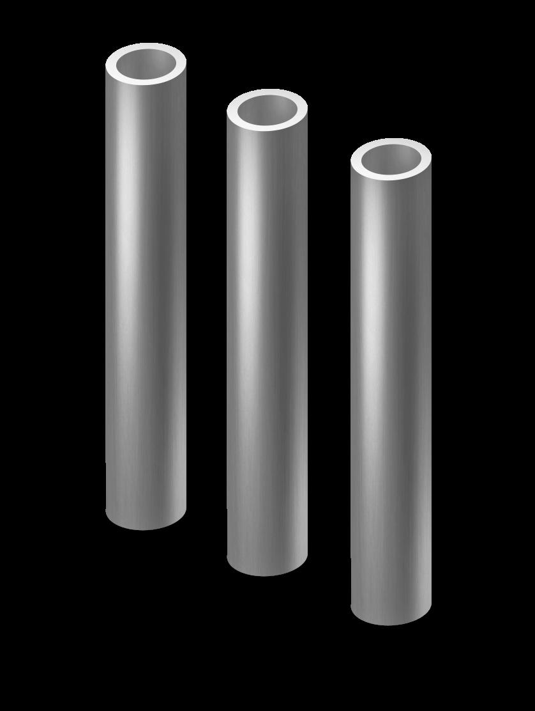 Столб круглый грунт с усами d 40 мм.