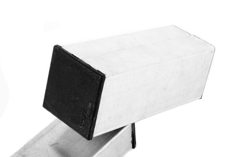 Столб квадратный ОЦ 50Х50 мм. - фото 1
